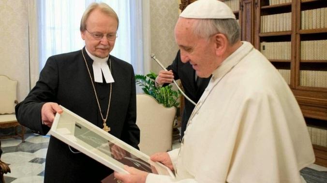 kari mäkinen - paavi franciscus